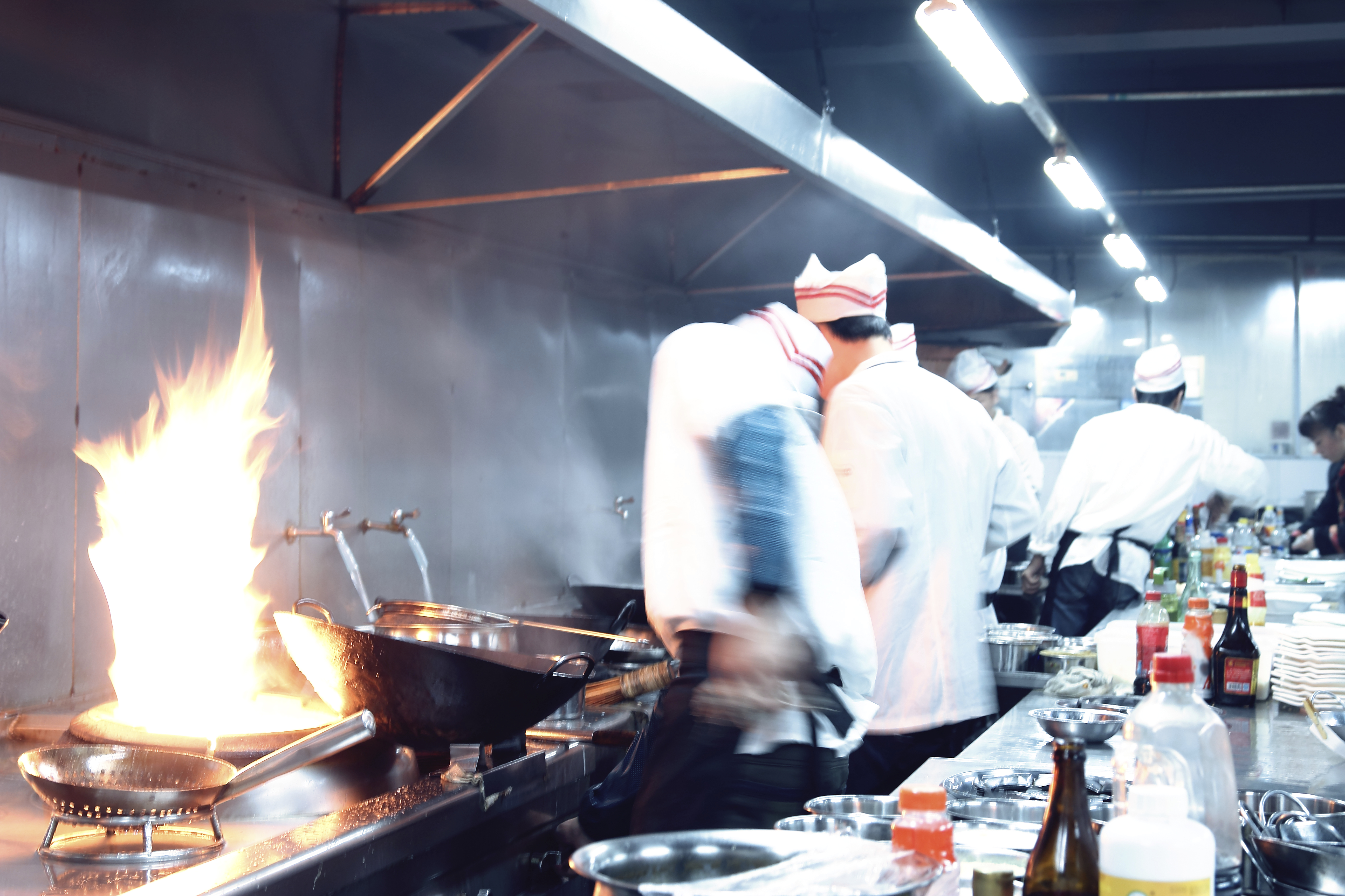 Chefs in motion